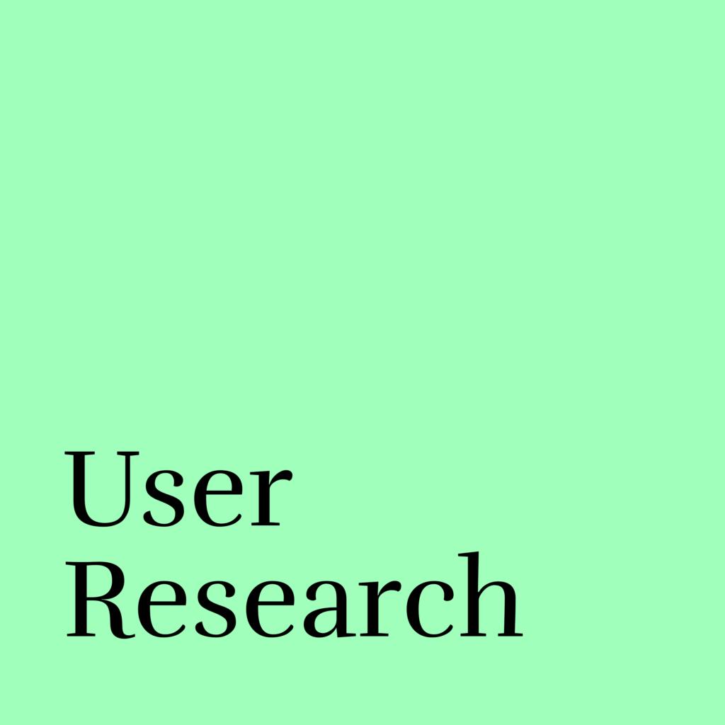 user research neu